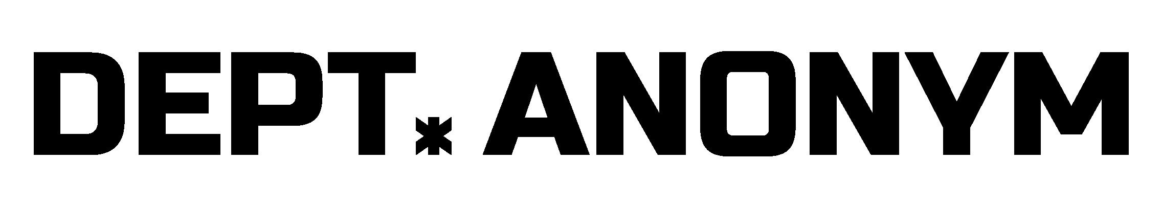 DEPT.ANONYM